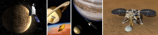"Projects/Space missions of the department ""Planets and Comets"""
