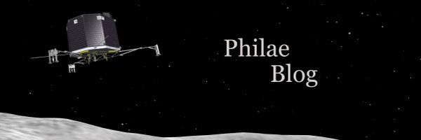 Philae Blog. Cometary science with the Rosetta mission.