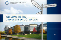 A guide for international researchers on Göttingen Campus.