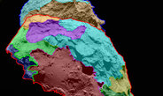 High-resolution images of comet 67P/Churyumov-Gerasimenko reveal a unique, multifaceted world. Scientists have now analyzed images of the comet's surface taken by OSIRIS, Rosetta's scientific imaging system, and allocated several distinct regions, each of which is  defined by special morphological characteristics. <br /><br />