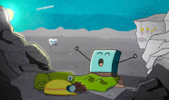 "Philae, Rosetta' solar-powered lander has woken up from its nearly seven months of hibernation. On Saturday, June 13, 2015 at 22.28 CET, Philae phoned home, sending initial data to Earth. More than 300 data packets are being evaluated. They mainly contain information about Philae's ""health"" and have shown that the comet probe has an operating temperature of -35 degrees Celsius and 24 watts of energy available."