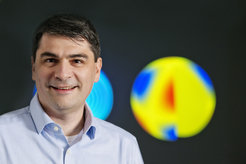 Prof. Dr. Laurent Gizon, Director at the Max Planck Institute for Solar System Research in Göttingen (Germany).