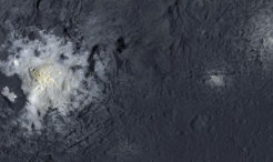 Highly resolved images of Occator crater show evidence for long-lasting geologic activity.