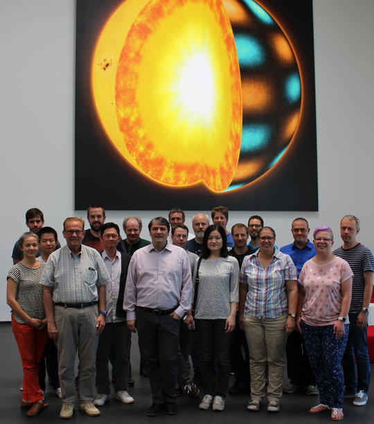 The PLATO-team at the Max Planck Institute for Solar System Research.