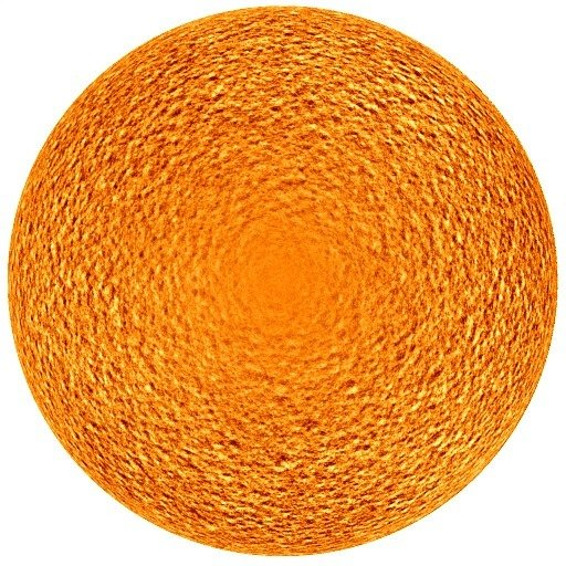 The observed supergranular pattern on the Sun