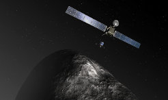 After a long, deep sleep the Rosetta space probe will be awoken on 20 January.The electronic wake-up call heralds the last stage of a journey through the solar system that has lasted more than 10 years. At its end is the unique encounter between the European space probe and the 67P/Churyumov-Gerasimenko comet in August of this year.