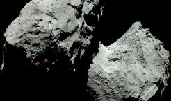 Rosetta's Comet: Shades of Grey