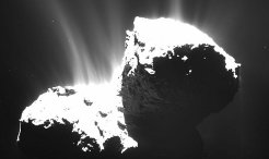 Comet 67P/Churyumov-Gerasimenko has shown activity in the form of dust jets for a few months now. Recent OSIRIS images reveal that large scale jets as seen in previous images can now be resolved into many smaller jets emerging from the surface and then unite further away from the comet nucleus.