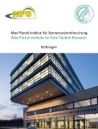 Max Planck Institute for Solar System Research Göttingen