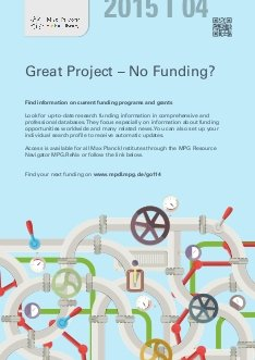 Search for external funding with the eResource Navigator (MPG.ReNa) hosted by the Max Planck Digital Library (MPDL)
