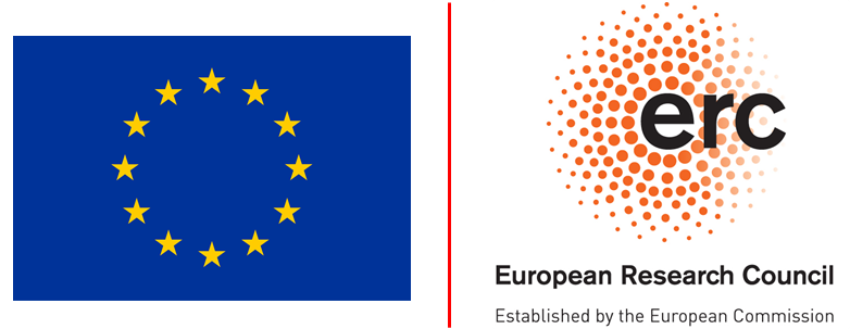 This project is funded by the European Research Council (ERC) under the European Union's Horizon 2020 research and innovation programme (grant agreement No 695075)