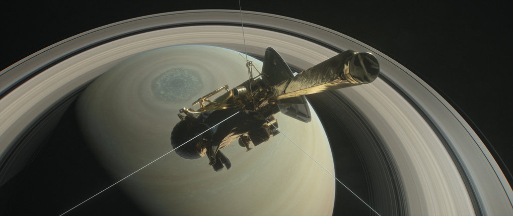 Am 15. September soll die NASA-Raumsonde Cassini in den Saturn stürzen.