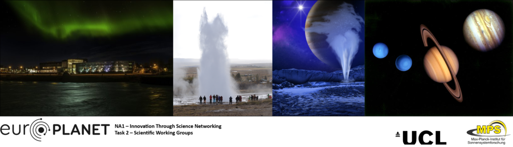 Europlanet workshop Outer planet moon-magnetosphere interactions Selfoss, Iceland, 11-15 Feb 2019