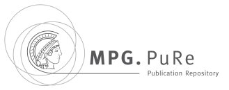 MPG.PuRe Advanced Search
