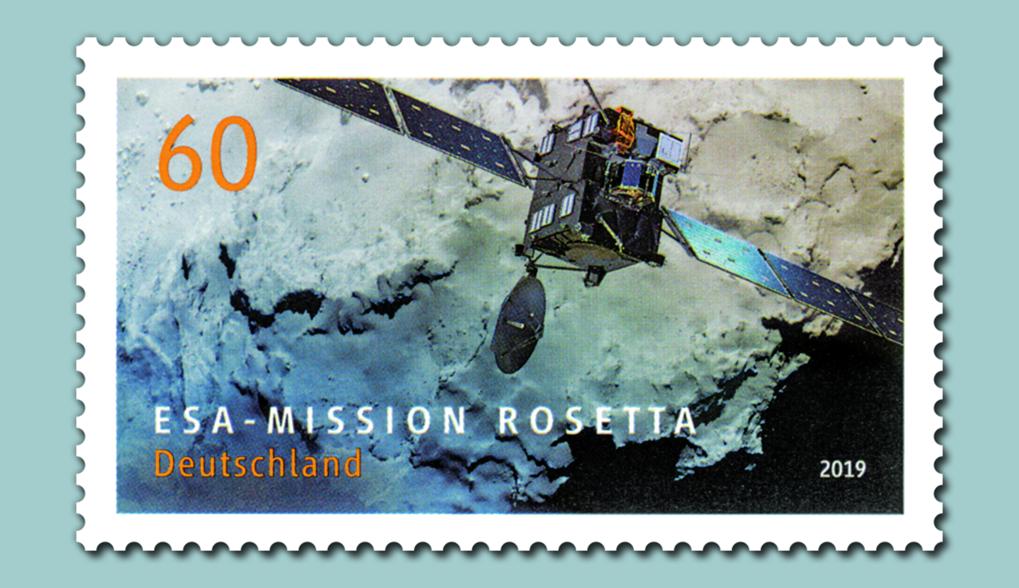 Rosetta-Briefmarke erschienen