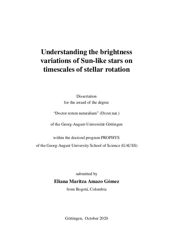 Dissertation 2020 Eliana Amazo Gomez